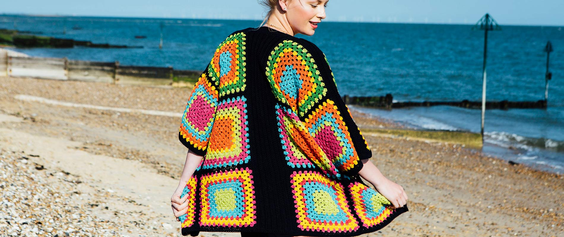 Coachella Cardigan Crochet Pattern