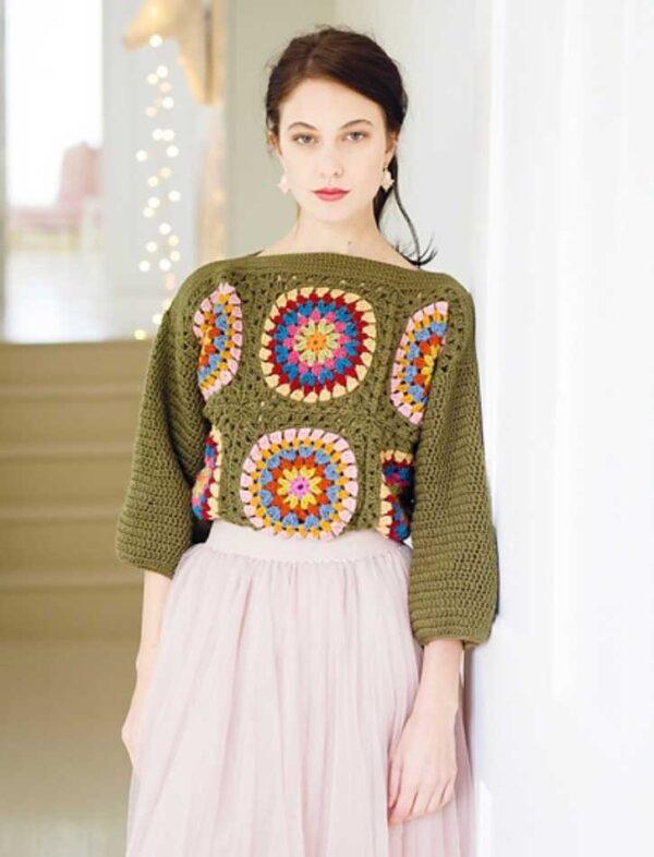 Grannys Jumper Crochet Pattern